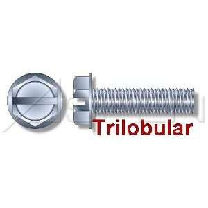 Thread Rolling Screws Hex Washer Zinc #10 24X1/2   Ships Free in USA