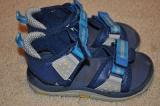 Boys Baby Gap Sandals Blue 8 9 Toddler   VGUC