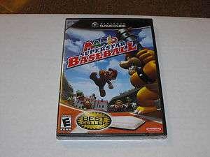 Mario Superstar Baseball Gamecube New Best Seller (Damaged Seal