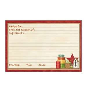 Legacy Publishing Recipe Cards   Memories and Candle