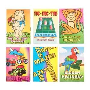 Animal Fun & Game Books   12 per unit Toys & Games