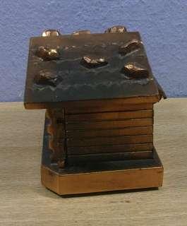 Vintage Trinket Box Black Forest House #AK