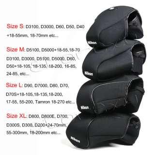 Soft Camera Case Bag Pouch for Nikon D5100 D5000 D3100 D3000 D60 D50 M