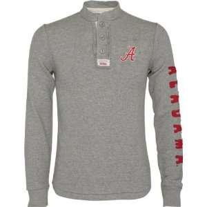 Alabama Crimson Tide Heather Grey Rafter Waffle Knit