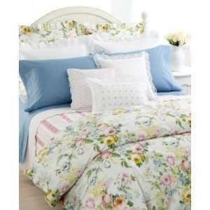 Ralph Lauren Home Lake Floral White Full Queen Bed