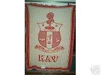 Kappa Alpha Psi   New Fraternity Greek Blanket Afghan