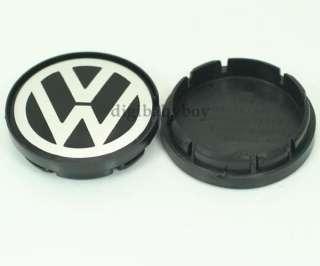 2PCS VW PASSAT JETTA GOLF POLO WHEEL CENTER CAP 55mm