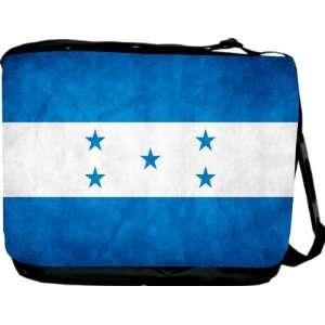 Rikki KnightTM Honduras Flag Messenger Bag   Book Bag