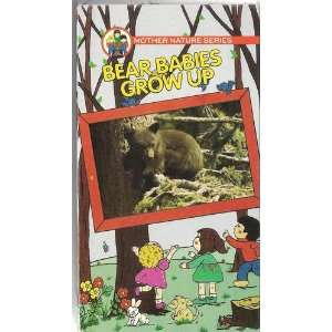 Bear Babies Grow Up [VHS] Mother Nature Series Movies & TV