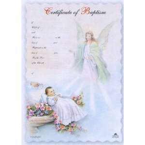 Certificates in English, Guardian Angel   7 x 10.5 Office Products