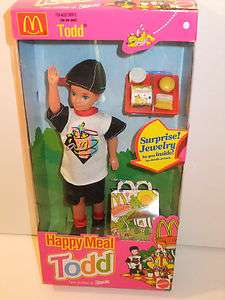 NIB BARBIE DOLL 1993 HAPPY MEAL MCDONALDS TODD
