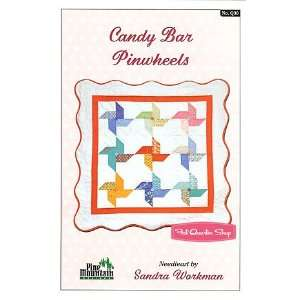 Candy Bar Pinwheels Quilt Pattern   Pine Mountain Designs
