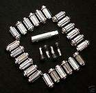 lug Chrome spline lug nut install kit CHEVY GMC 1500 6 lug trucks