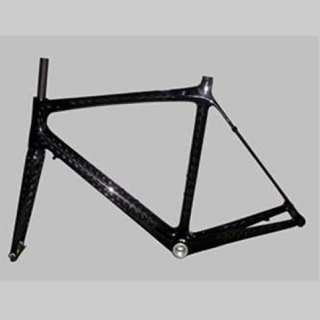 Full Carbon Fiber Road Bike Frame/Fork 3K 49cm 1120g