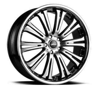 19 STAGGERED VERTINI HENNESSEY 5X120 WHEELS RIM FIT BMW 740 745 750I