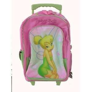 Disney Fairy Tinkerbell Tinker Bell Rolling Backpack