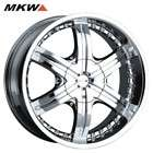 20 MKW M58 Chrome Wheels Rims 6 Lug 6x127 Chevy Chevrolet Trailblazer