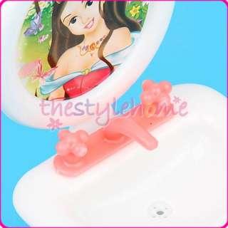 sku b000105660 description features 2 piece barbie doll house bathroom
