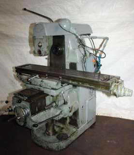 Cincinnati Universal Horizontal Milling Machine
