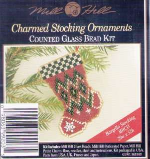 Christmas Charmed Bargello Stocking Kit by Mill Hill