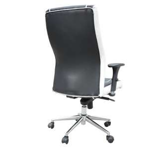 New High Back Leather Office Chair Mid Back Computer Task Desk