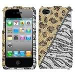Hottie Rhinestone Bling Hard Case Phone Cover Apple iPhone 4 4G and