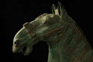 Chinese Bronze Antique Tang Dynasty Horse Statue Collection