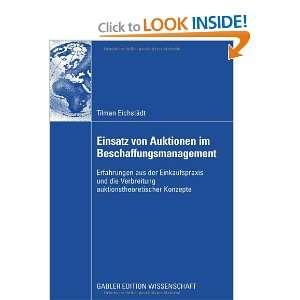 ) (9783834910929) Tilman Eichstädt, Prof. Dr. Wilfried Siebe Books