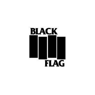 Minor Threat   Classic Black & White Logo   Sticker / Decal