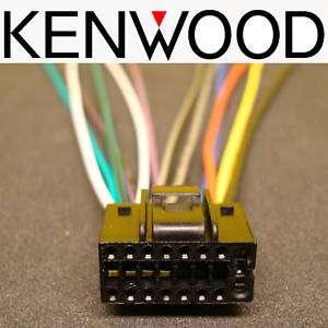 KENWOOD 16 PIN POWER WIRE HARNESS PLUG INDASH DVD CD MP