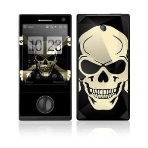 Crossbone Decorative Skin Cover Decal Sticker for HTC