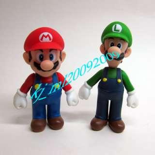 NEW Nintendo Super Mario Figure 12cm Luigi & 11cm Mario x 1pcs