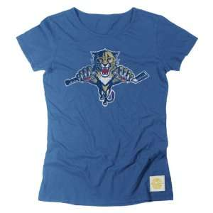 Florida Panthers Retro Sport Womens Bigger Better Logo T