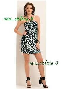 NWT Marciano Guess Juniper ROAR Animal Print Dress XS S