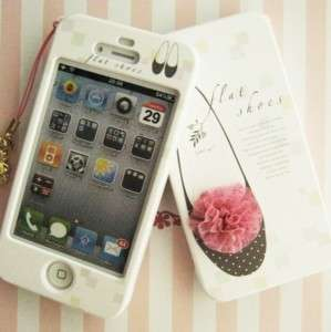 APPLE IPHONE 4G Hard Plastic Case Cover FLAT SHOES