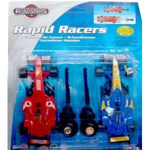 Rapid Racers   Set of 2 F1/Indy Racing Cars 1/32nd Toys & Games