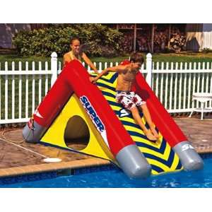 Inflatable pool slides car interior design Toys r us swimming pools above ground
