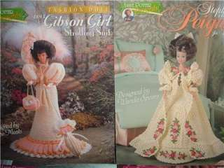 Annie Potter Presents Crochet Fashion Doll Patterns Bridal Gibson Girl