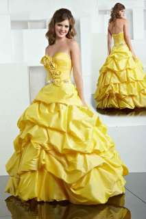 Quinceanera Dress Wedding Gown Prom Party Cocktail Dresses 2012