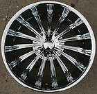 KARIZZMA HELIOS KR07 20 CHROME RIMS WHEELS GMC ENVOY 6x127 RAINIER