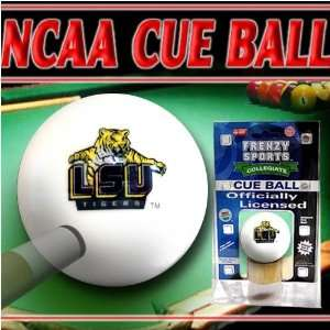 LSU Tigers Officially Licensed Billiards Cue Ball: Sports