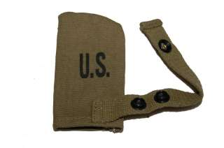 US WWII Army M1 Garand Khaki Carbine Muzzle Cover