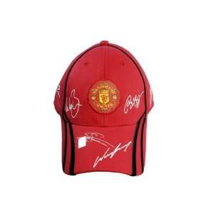 FC MANCHESTER UNITED OFFICIAL TEAM LOGO CAP / HAT   MU035