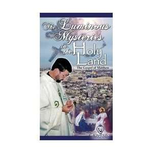 Luminous Mysteries in Holy Land, Fr Mitch Pacwa VHS