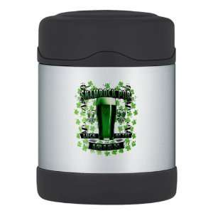 Thermos Food Jar Shamrock Pub Luck of the Irish 1759 St Patricks Day