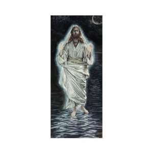 James Jacques Tissot   Jesus Walking On The Sea Giclee Home & Kitchen