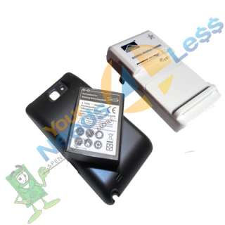 New 5000mAh extended battery Samsung Galaxy Note GT N7000 + Cover