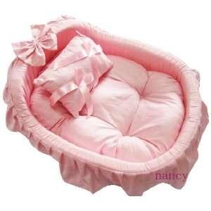 Princess/prince Pet Dog Cat Handmade Bed/house + Pillow