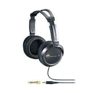 JVC HARX300 HIGH QUALITY FULL SIZE DJ HEADPHONES BLACK