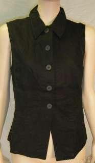 NWT Kathy Lee Black Pants Top 2pc Set Sleeveless Sz 10